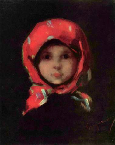 Nicolae Grigorescu - Portret de fetita