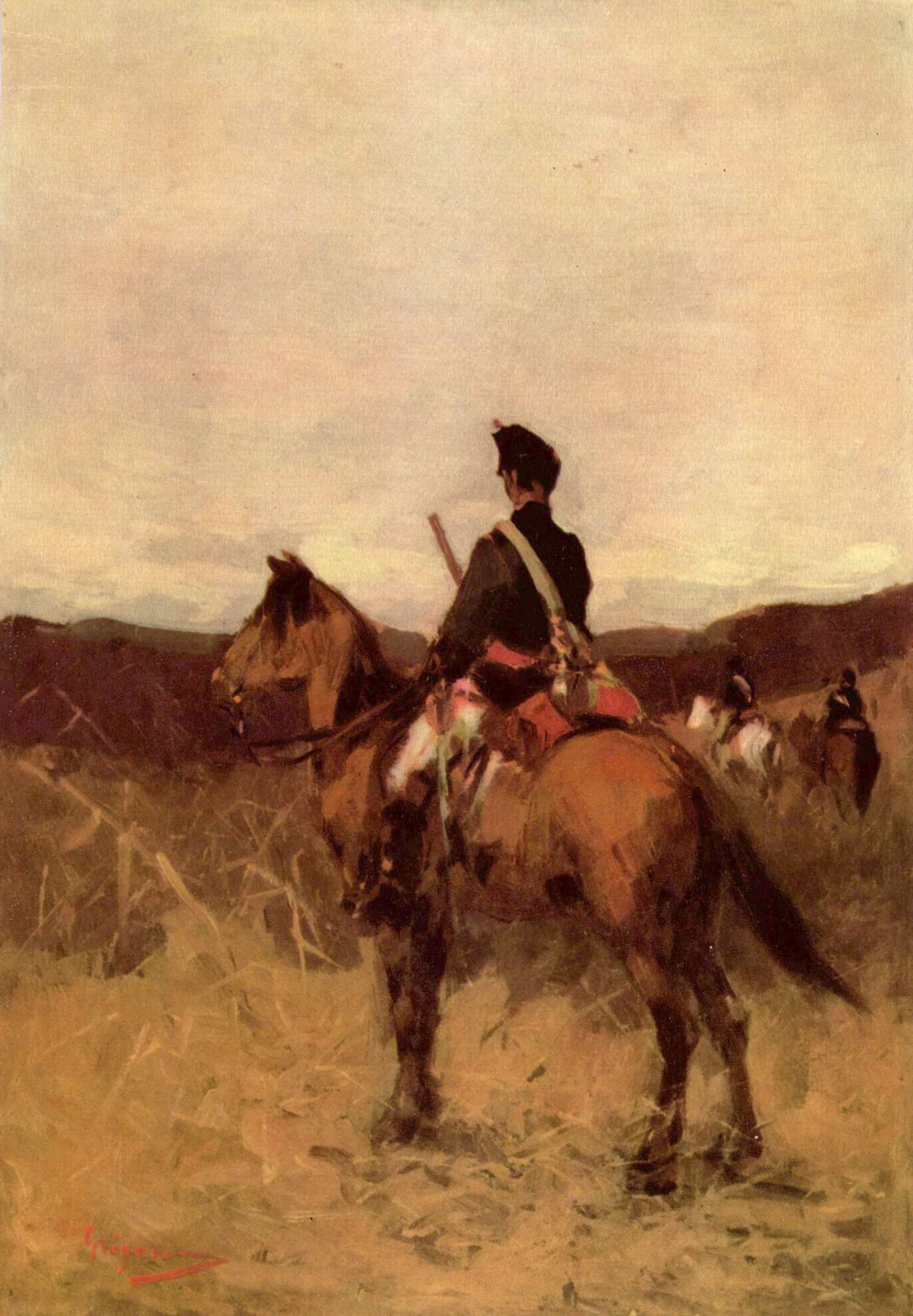Nicolae Grigorescu - Roşior călare