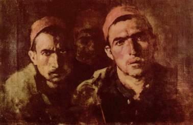 Nicolae Grigorescu - Türkische Gefangene