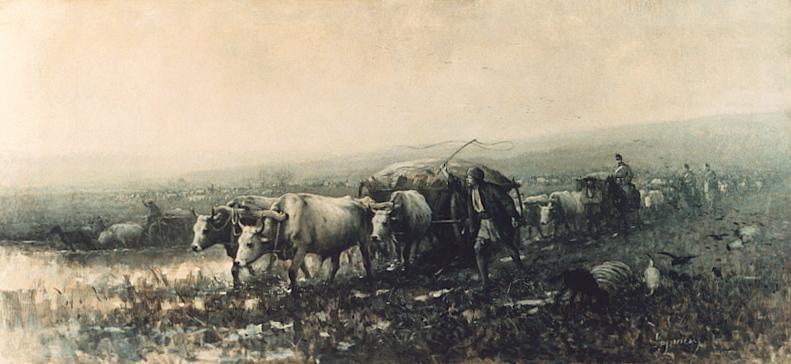 Nicolae Grigorescu - Transport de provizii