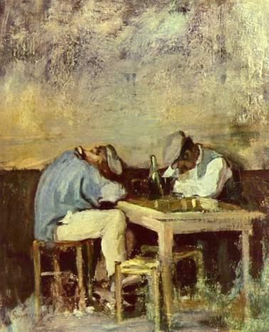 Nicolae Grigorescu - Zwei Betrunkene