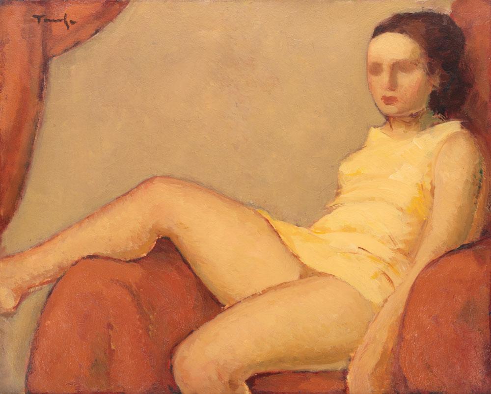 Nicolae Tonitza - Catrina (fiica artistului)