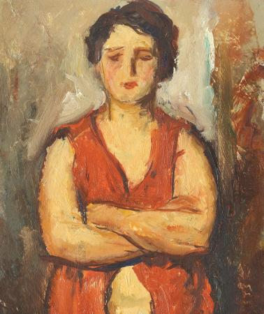 Nicolae Tonitza - Catrina (fiica cea mare a pictorului)