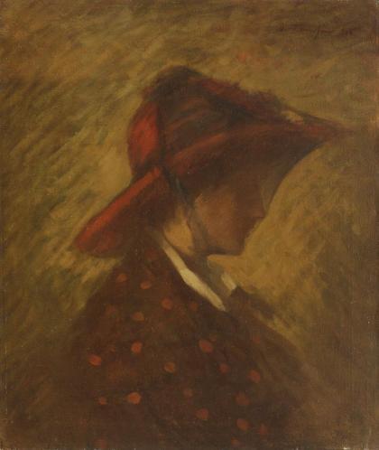 Nicolae Tonitza – Doamna cu voal
