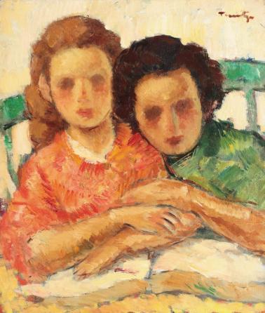 Nicolae Tonitza - Două surori