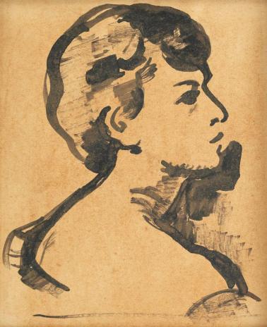 Nicolae Tonitza – Portretul Ecaterinei (soția artistului)