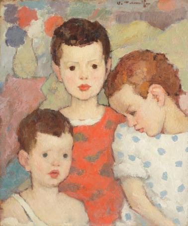 Nicolae Tonitza - Trei frați (Copiii pictorului)