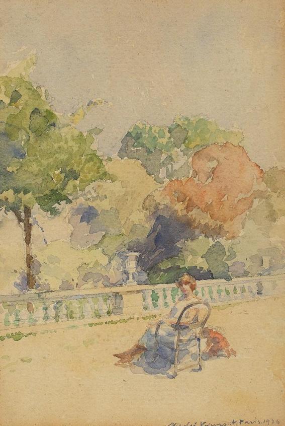 Nicolae Vermont - Amiază de primăvară