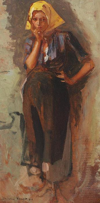 Nicolae Vermont - Basmaua galbenă