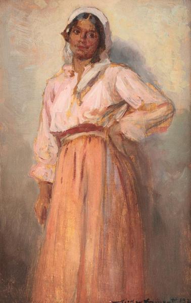 Nicolae Vermont - Ţigăncuşă cu basma