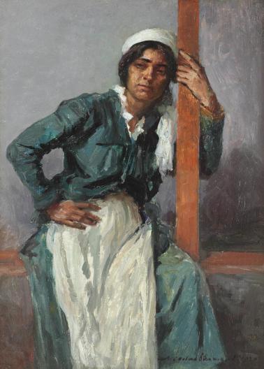 Nicolae Vermont - Chivuță în pridvor