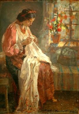 Nicolae Vermont - Cusătoreasa.