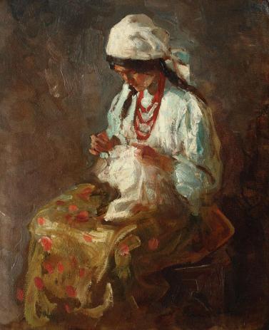 Nicolae Vermont - Cusătoreasă