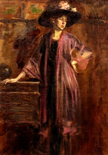 Nicolae Vermont – Femeie cu pălărie