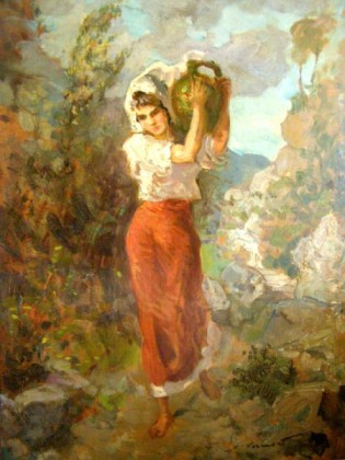 Nicolae Vermont - Fetita cu ulciorul