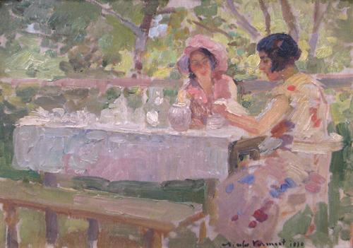 Nicolae Vermont - In gradina
