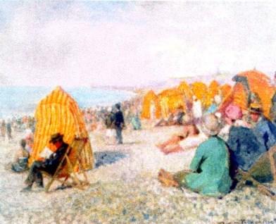 Nicolae Vermont - Plaja (la Dieppe)