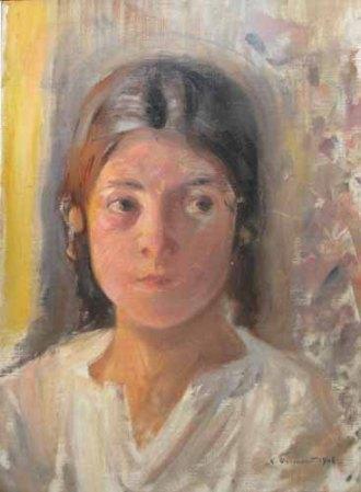 Nicolae Vermont - Portret de fetita