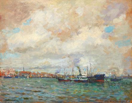 Nicolae Vermont - Portul Rotterdam