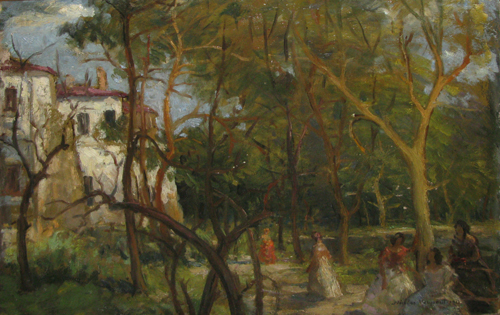 Nicolae Vermont - Vara la conac