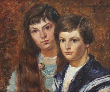 Octav Băncilă - Copiii pictorului
