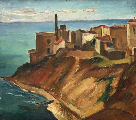 Petre Iorgulescu - Yor - Faleză la Constanța