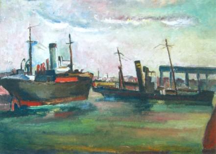 Petre Iorgulescu-Yor - Vase in port