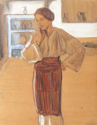 Rodica Maniu Mutzner - Ţărăncuţă în interior