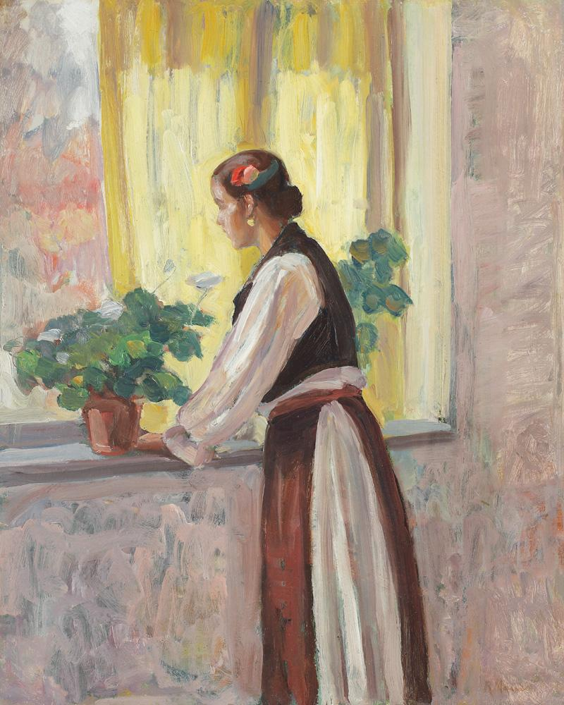 Rodica Maniu Mutzner - La fereastra