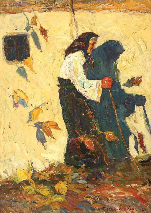Rudolf Schweitzer-Cumpăna - Alegoria toamnei