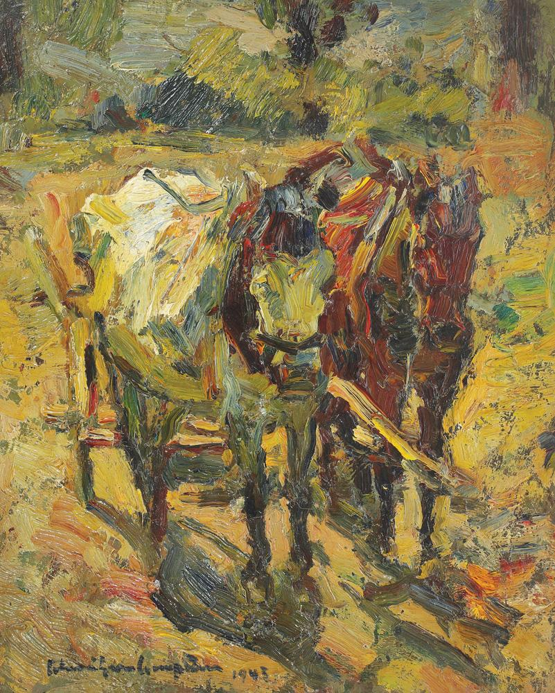 Rudolf Schweitzer-Cumpăna - Amiază la câmp