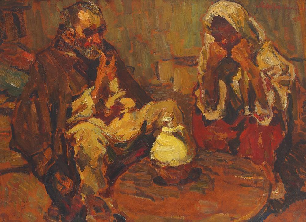 Rudolf Schweitzer-Cumpăna - În fața vetrei