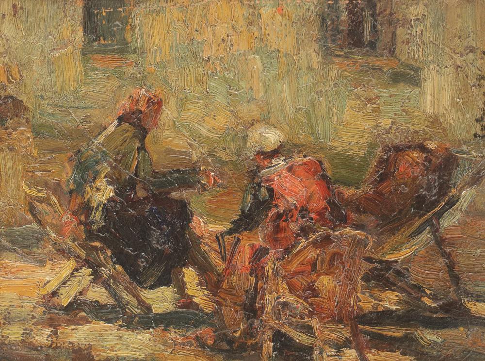 Rudolf Schweitzer-Cumpăna - Şezătoare