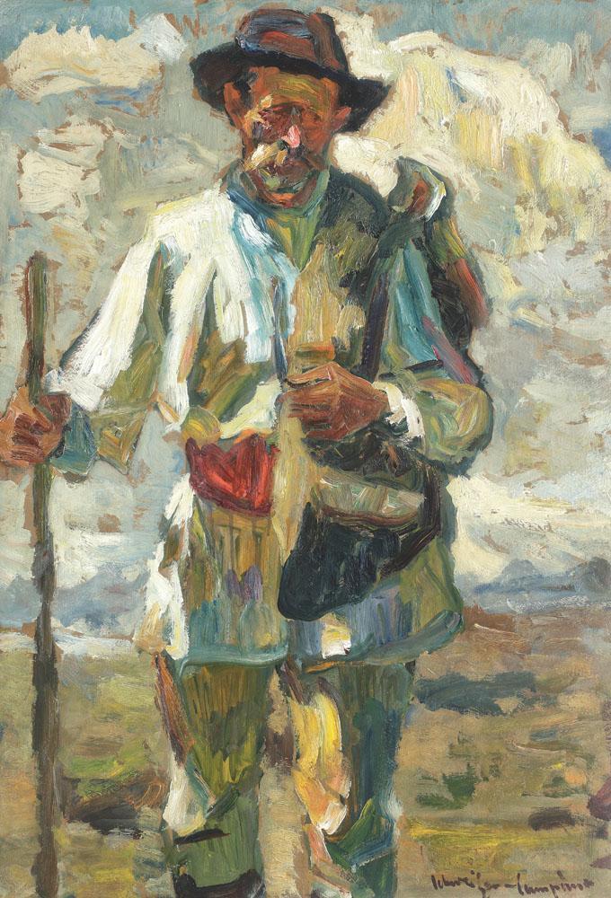 Rudolf Schweitzer-Cumpăna - Ţăran cu desagă