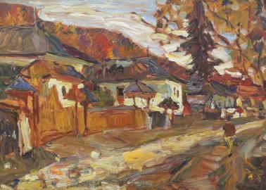 Rudolf Schweitzer-Cumpăna - Case pe Valea Argeșului