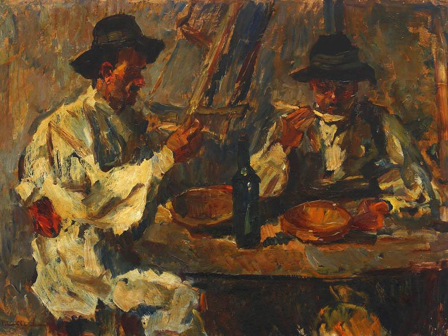 Rudolf Schweitzer-Cumpăna - Cina dulgherilor
