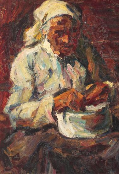 Rudolf Schweitzer-Cumpăna - Depănușatul porumbului