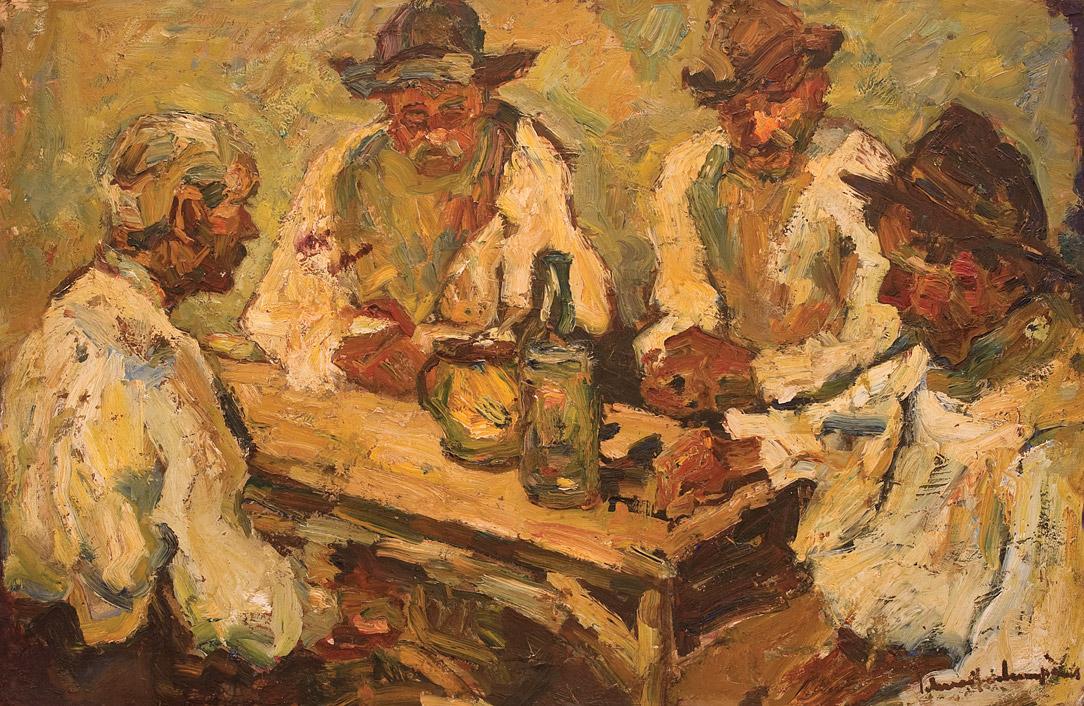 Rudolf Schweitzer-Cumpăna - La han