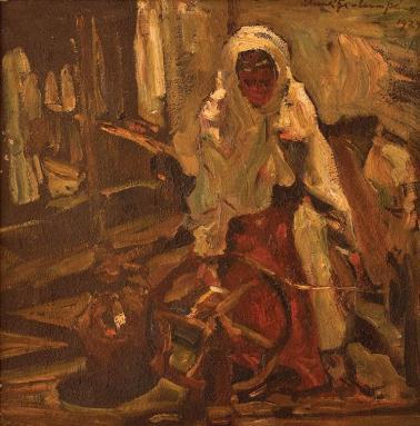 Rudolf Schweitzer-Cumpăna - La vârtelniță