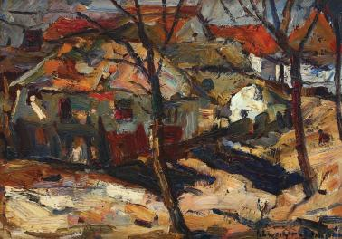 Rudolf Schweitzer-Cumpăna - Margine de sat