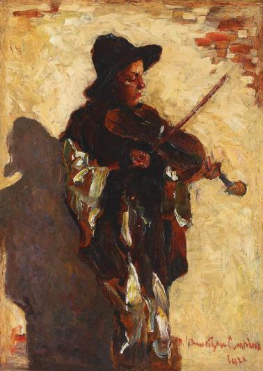 Rudolf Schweitzer-Cumpăna - Micul violonist