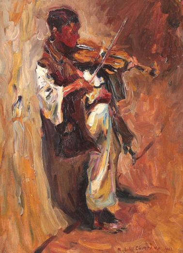 Rudolf Schweitzer-Cumpăna - Micul violonist.
