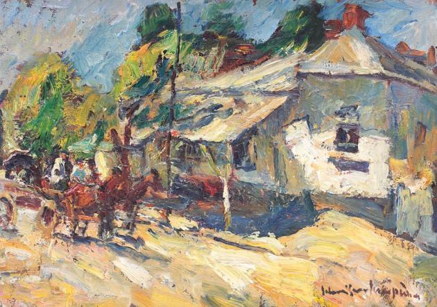 Rudolf Schweitzer-Cumpăna - ntoarcerea de la câmp