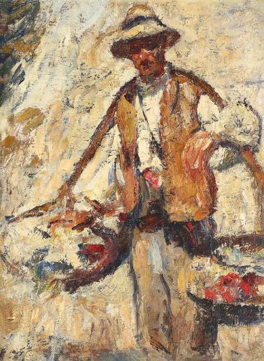 Rudolf Schweitzer-Cumpăna - Oltean cu cobiliță