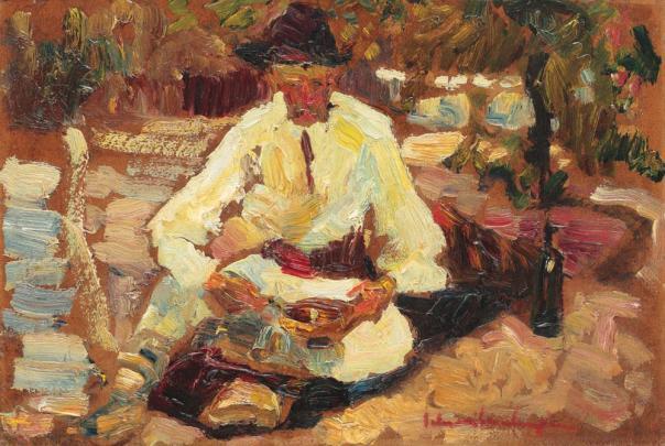 Rudolf Schweitzer-Cumpăna - Prânz la câmp