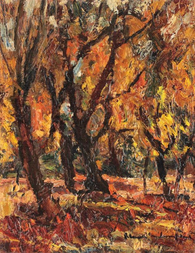 Rudolf Schweitzer-Cumpăna - Toamnă târzie