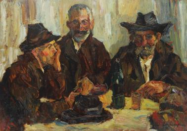 Rudolf Schweitzer-Cumpăna - Trei ţărani