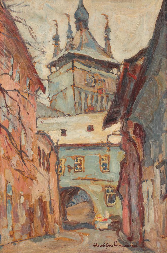 Rudolf Schweitzer-Cumpăna - Turnul Sighișoarei