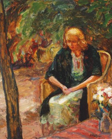 Samuel Mützner – În grădină