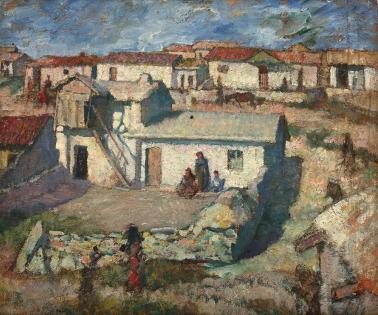 Samuel Mützner - Cartierul tătărăsc din Balcic